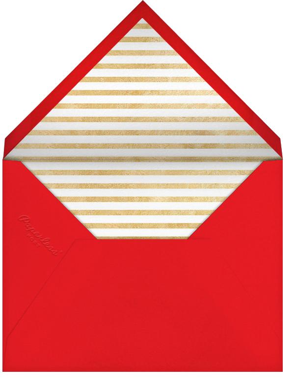 New Year Cutouts (Horizontal Multi-Photo) - Gold - Paperless Post - Envelope