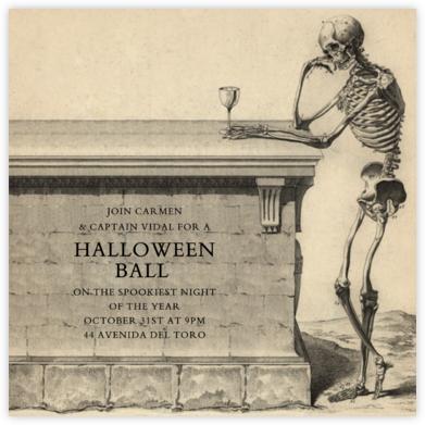 Skeleton with Drink - John Derian