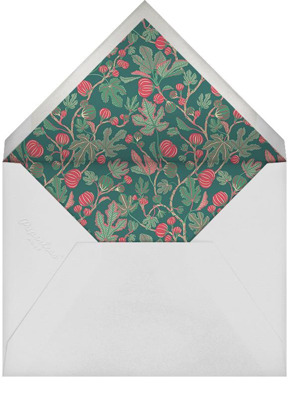 Alma (Greeting) - Liberty - Christmas - envelope back