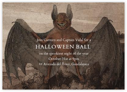 Bat (Horizontal) - John Derian - John Derian stationery
