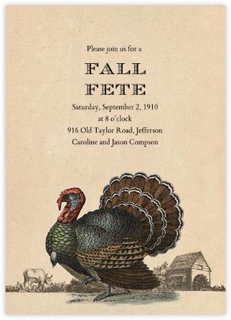 Turkey and Farm - John Derian - John Derian stationery