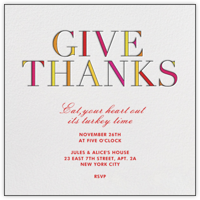 Give Thanks - kate spade new york -