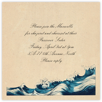 Rough Waves - John Derian - John Derian stationery