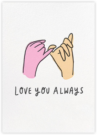 Pinky Swear - Hello!Lucky - Love Cards
