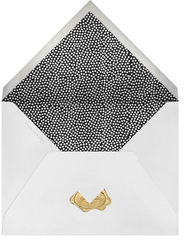 Konfetti - Silver - Kelly Wearstler - Rehearsal dinner - envelope back