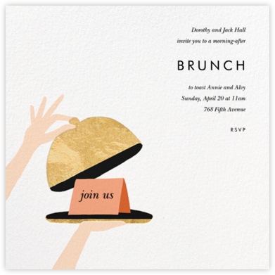 Cloche - Rifle Paper Co. - Brunch invitations