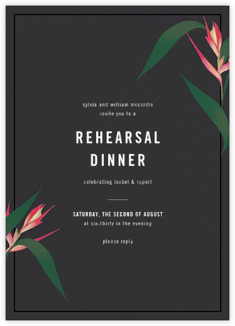 Paradisier - Paperless Post - Wedding Weekend Invitations