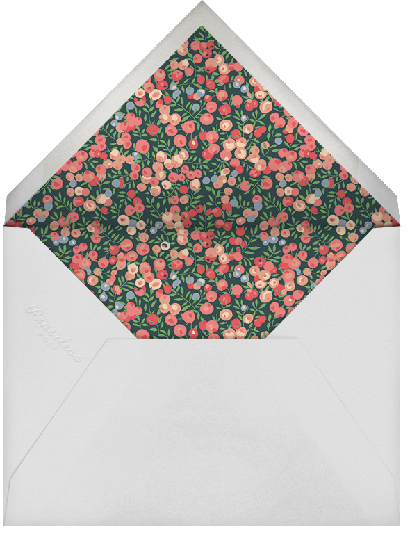 Wiltshire Berry - Spruce - Liberty - Envelope