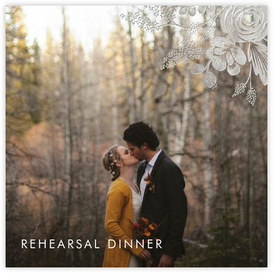 Heather and Lace (Photo) - Silver - Rifle Paper Co. - Wedding weekend