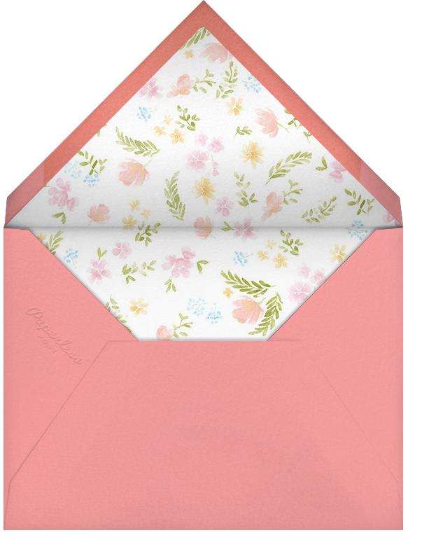 Baby Bloom - Paperless Post - Baby shower - envelope back
