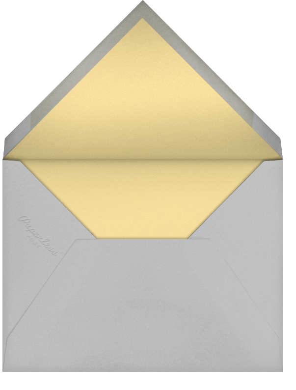 Feather Express - Paperless Post - Baby shower - envelope back