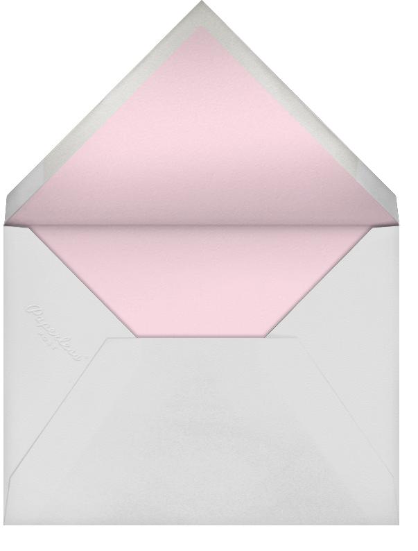 Flower Shower - Pink - Paperless Post - Baby shower - envelope back