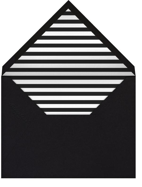 Field of Thanks - Black/Rose Gold - Paperless Post - Wedding - envelope back
