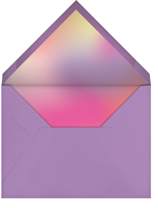 White (Tall) - Paperless Post - Birthday - envelope back