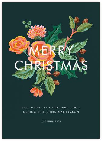 Jardin Noel (Christmas Greeting) - Rifle Paper Co. - Christmas Cards