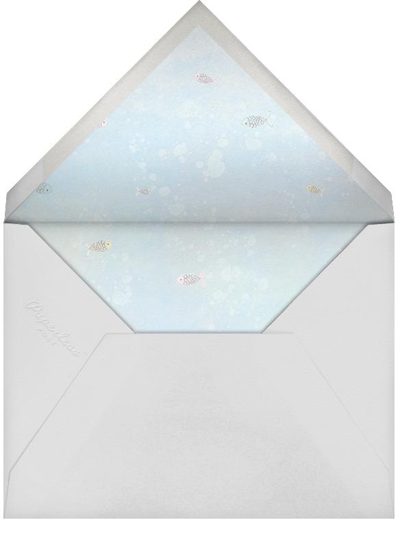 Make a Splash - Paperless Post - Baby shower - envelope back