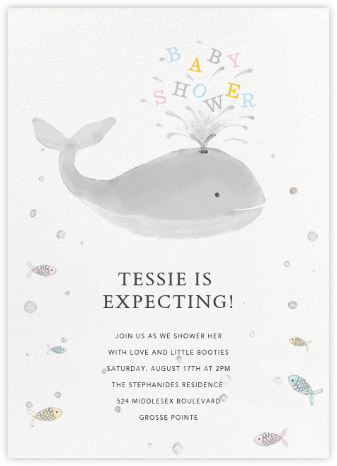 Make a Splash - Paperless Post - Baby shower invitations