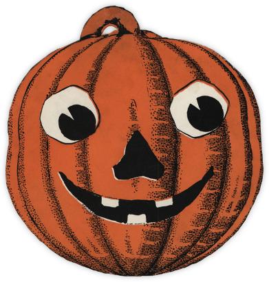Jack-o'-Lantern - John Derian - Halloween invitations