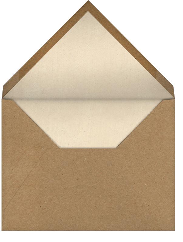 Jack-o'-Lantern - John Derian - Halloween - envelope back