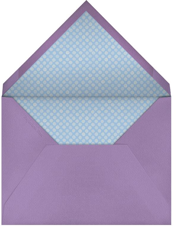 Umbrellas - Paperless Post - Baby shower - envelope back