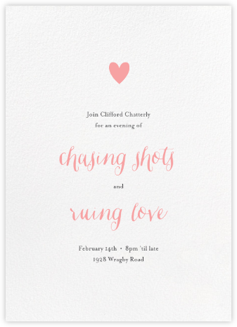 White (Tall) - Paperless Post - Valentine's Day invitations