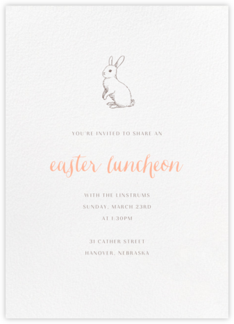 White (Tall) - Paperless Post - Easter Invitations