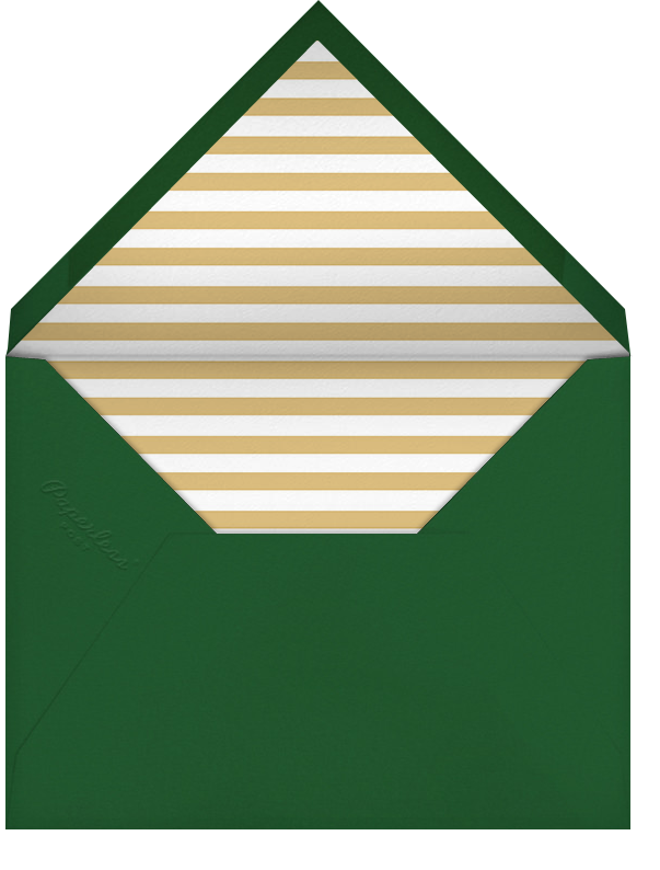 Éclat - Red/Gold - Paperless Post - Envelope