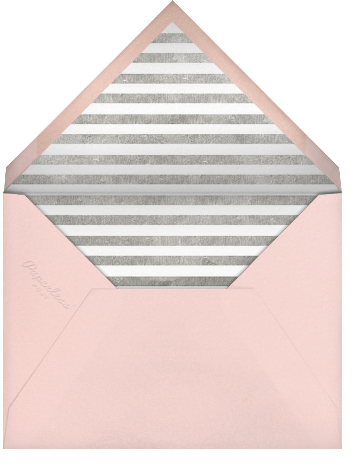 Decade Photo (Twenty-One) - Silver - Paperless Post - Envelope