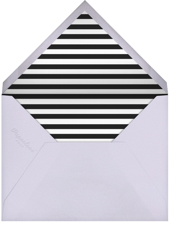 Decade Photo (Fifty) - Black - Paperless Post - Adult birthday - envelope back