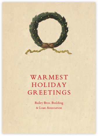 Holiday Wreath - John Derian - For organizations