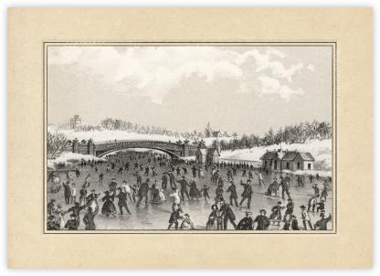 Central Park Skating - John Derian -