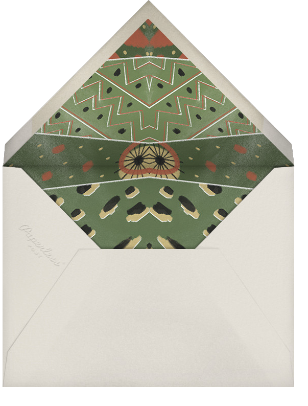 White (Tall) - Paperless Post - Thanksgiving - envelope back