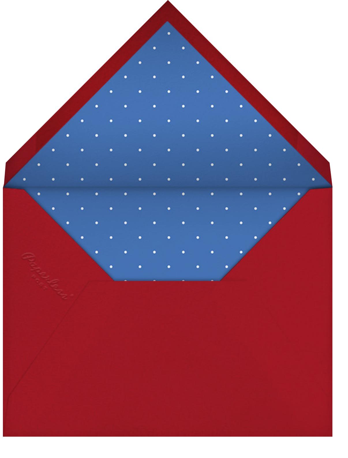 Melting Rocket Ship - Lipstick - Mr. Boddington's Studio - Barbecue - envelope back