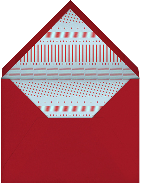New Home Sweet Home - Crate & Barrel - Housewarming - envelope back