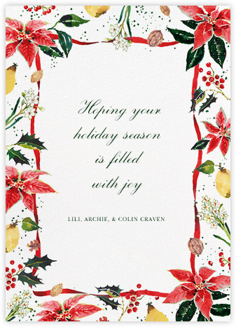 Holiday Harvest (Greeting) - Happy Menocal -