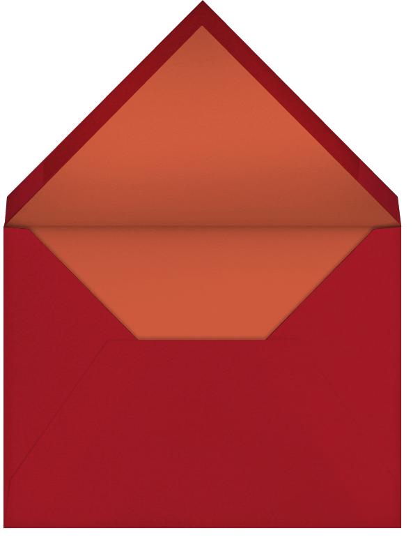 Fall (Sarah Burwash) - Red Cap Cards - Thank you - envelope back