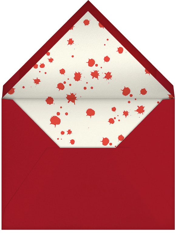 Killer Halloween (Invitation) - Hello!Lucky - Halloween - envelope back