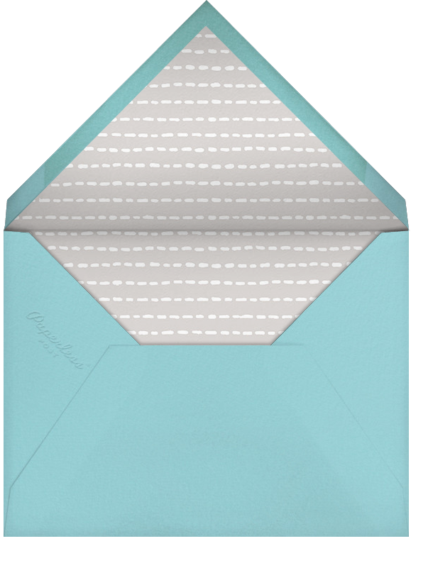 Full-Page Photo (Double-Sided) - Ivory - Paperless Post - Birth - envelope back