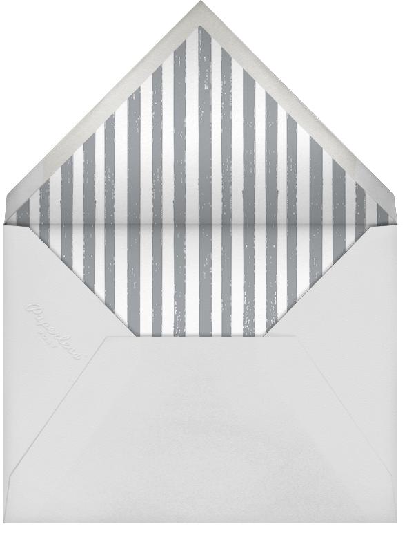 Wish Me Good Luck - Mr. Boddington's Studio - Rehearsal dinner - envelope back