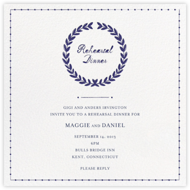 Wish Me Good Luck - Mr. Boddington's Studio - Wedding Weekend Invitations