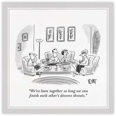 Divorce Threats - The New Yorker -