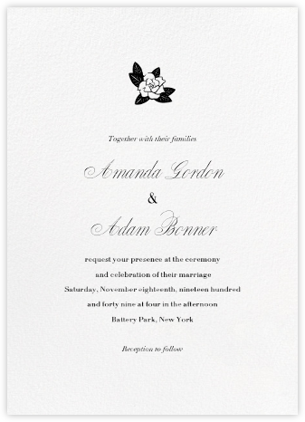 Blanc (Tall) - Paperless Post - Rustic wedding invitations