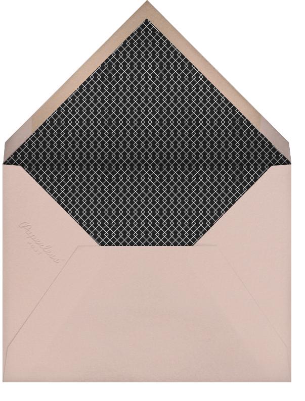 Blanc (Tall) - Paperless Post - Rehearsal dinner - envelope back