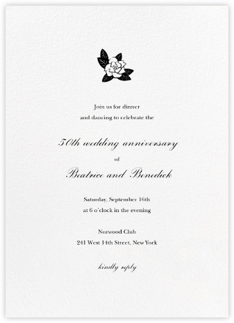 Blanc (Tall) - Paperless Post - Celebration invitations