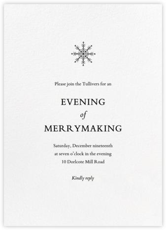 Blanc (Tall) - Paperless Post - Holiday invitations
