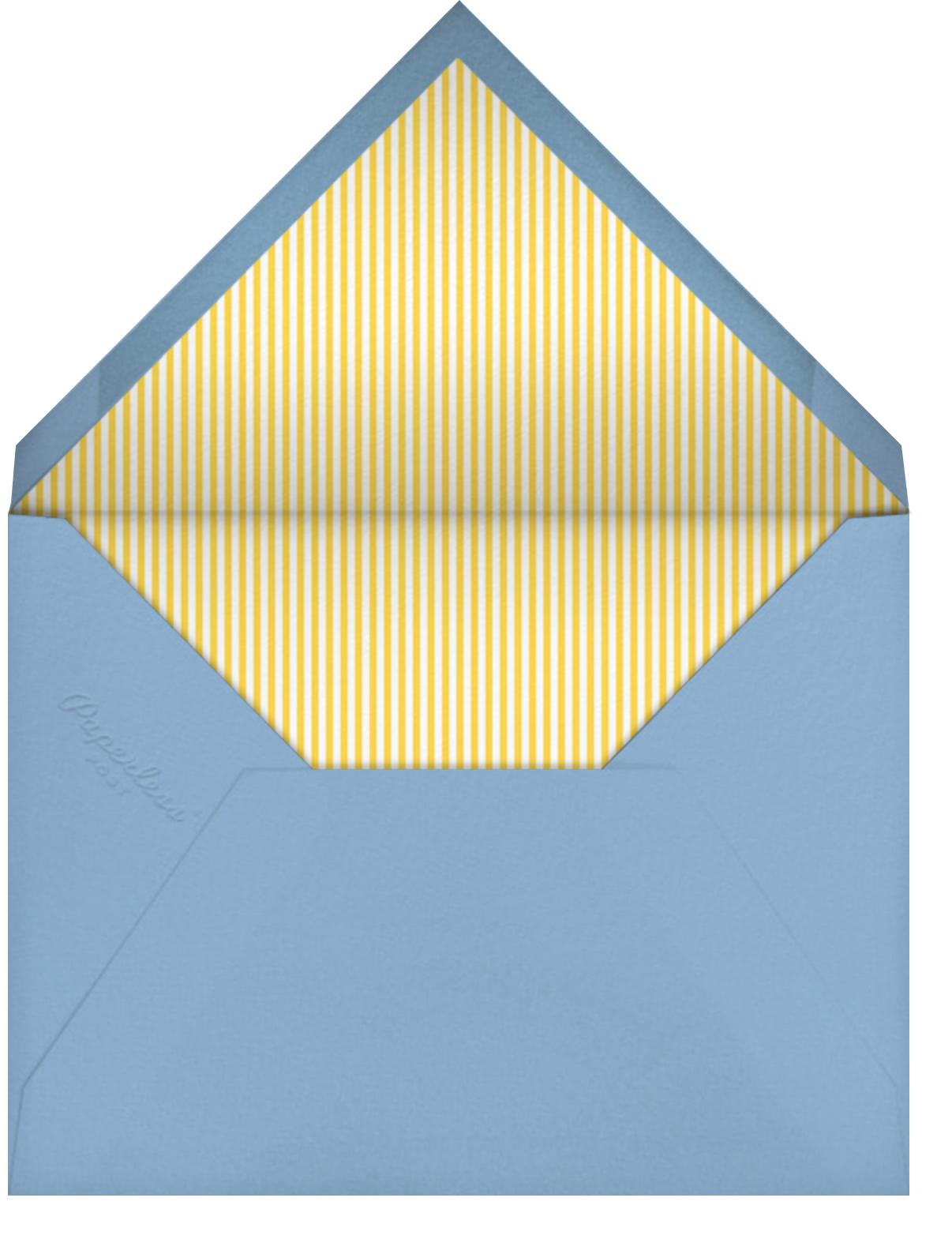 Sweet Celebration - Little Cube - Kids' birthday - envelope back