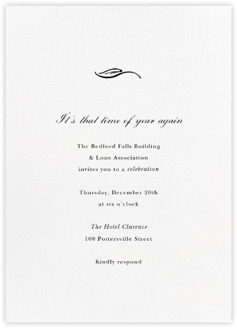 Blanc (Tall) - Paperless Post - Business event invitations