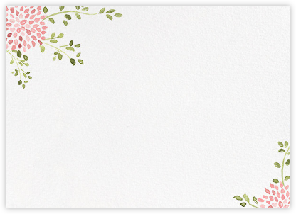 Dahlias (Stationery) - Blossom | horizontal