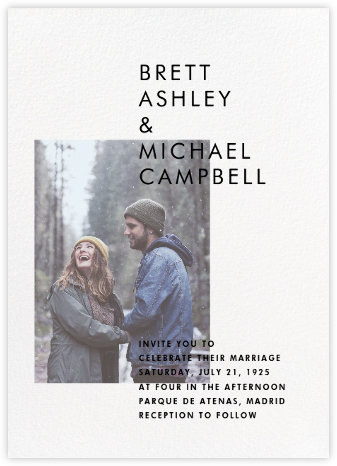 Transmission (Invitation) - Paperless Post - Modern wedding invitations