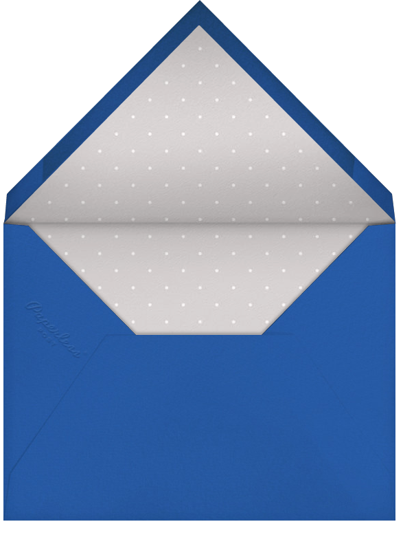 Messenger Dove - Silver - Paperless Post - Holiday cards - envelope back